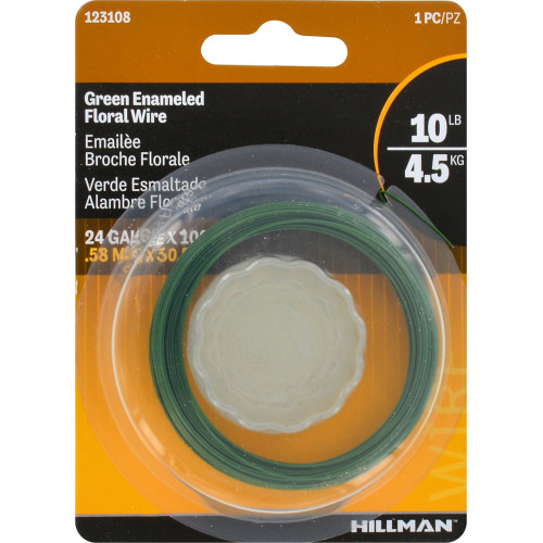 Hillman Floral Hobby Wire 24 Gauge 100'