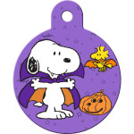 Snoopy Vampire Large Circle Quick-Tag