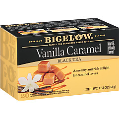 Vanilla Caramel Tea - Case of 6 boxes - total of 120 teabags