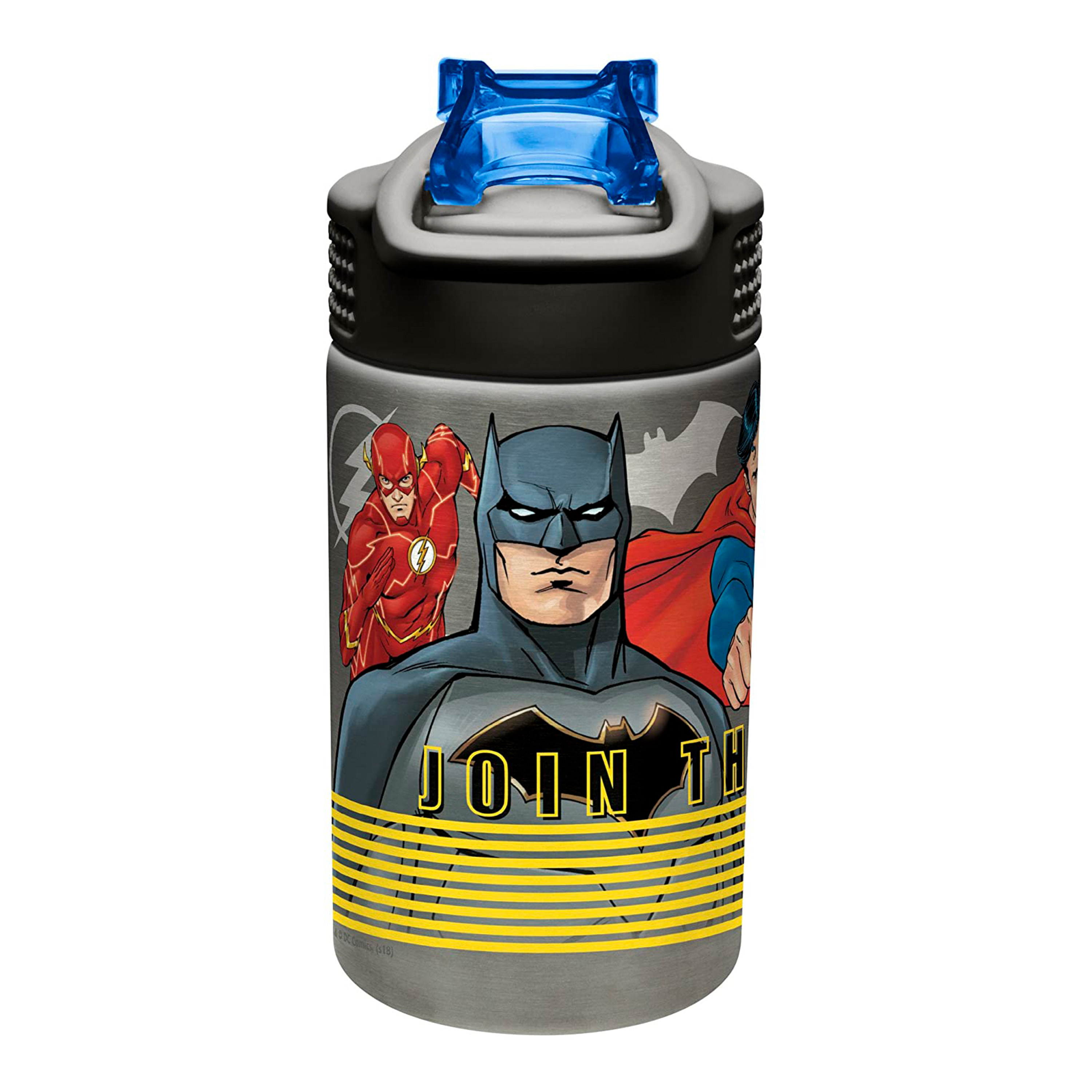 DC Comics 15.5 ounce Water Bottle, Justice League slideshow image 2