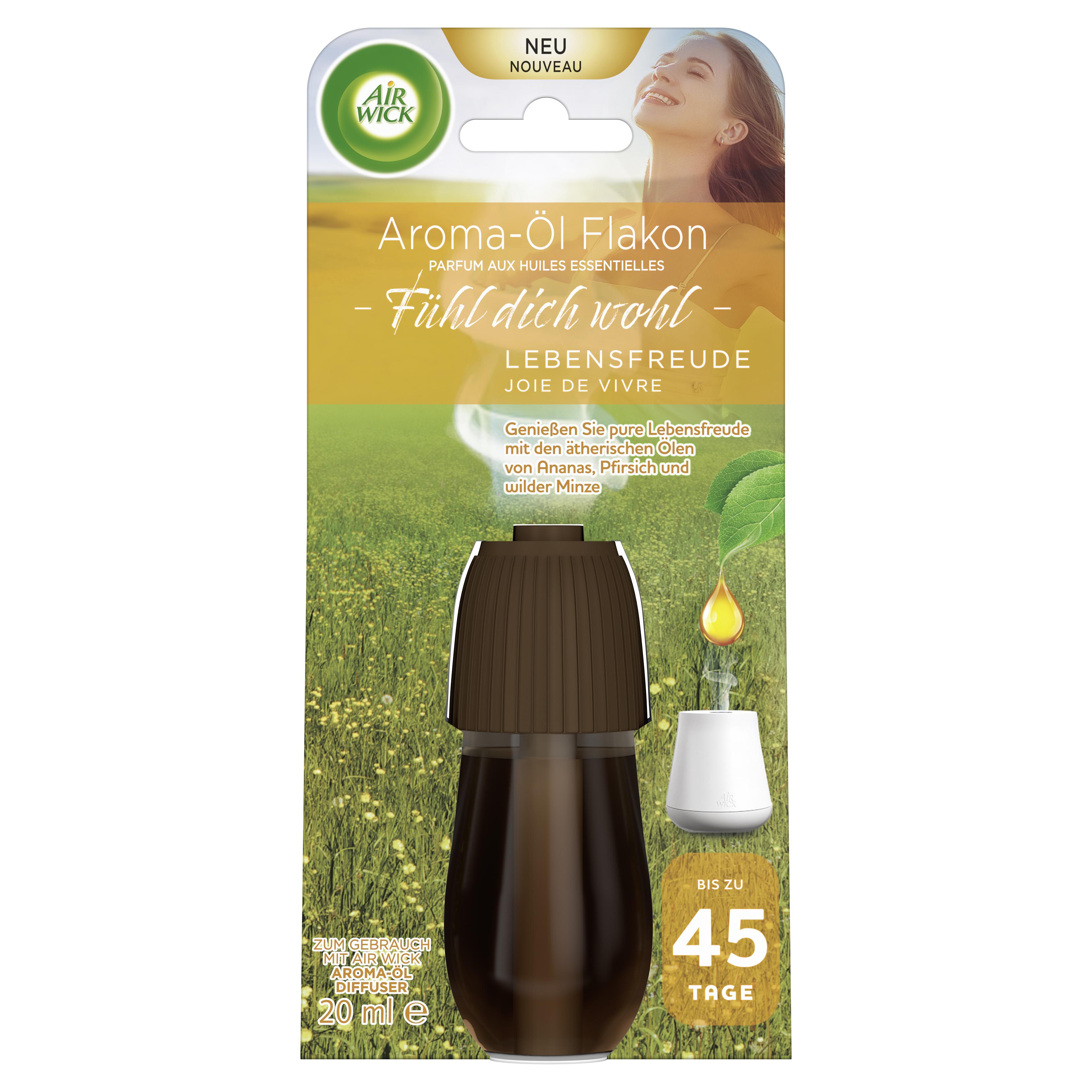 Air Wick Aroma-Öl Flakon Lebensfreude