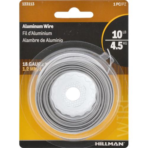 Hillman Aluminum Wire 18 Gauge 50'