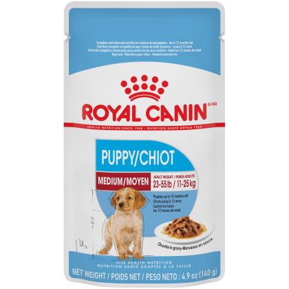 Royal Canin Size Health Nutrition Medium Puppy Pouch Dog Food