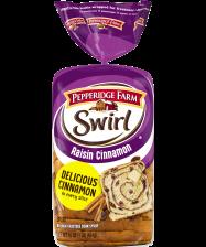(about 24 slices) Pepperidge Farm® Raisin Cinnamon Swirl Bread, cut into 1-inch pieces