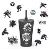 Marvel Comics 20 ounce Insulated Tumbler with Stickers, Spider-Man slideshow image 1