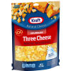 Kraft Three Natural Cheese Crumbles 8 oz Pouch