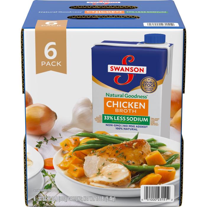 Natural Goodness? Chicken Broth