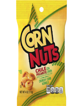 Corn Nuts Chile Picante con Limon Crunchy Corn Kernels 4 oz Bag