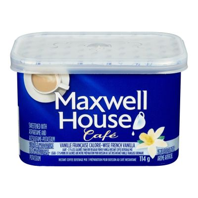 Maxwell House Café French Vanilla Flavoured Instant Coffee