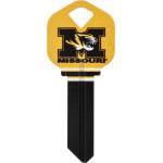 NCAA University of Missouri Key Blank