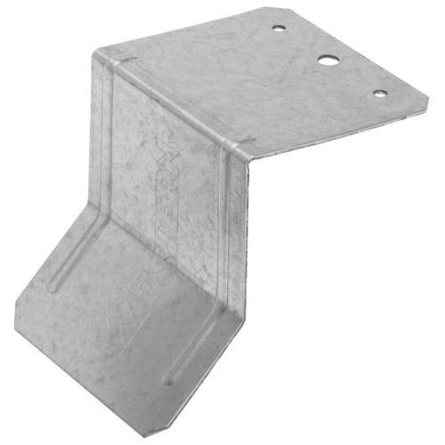 Hillman Galvanized Box Rail Flashing Bracket