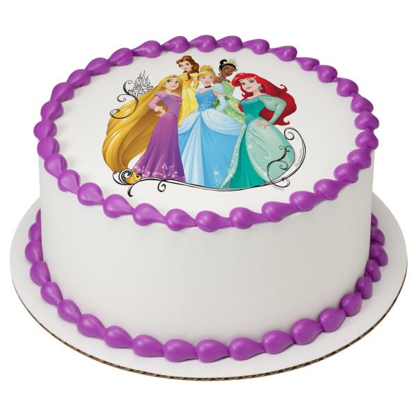 Disney Princess Dream Big, Princess PhotoCake® Edible Image®