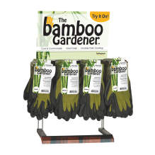 Bellingham Bamboo Nitrile Palm Glove Countertop Display