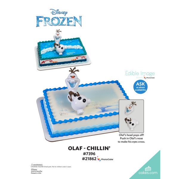 Frozen Olaf Chillin' DecoSet® The Magic of Cakes® Page