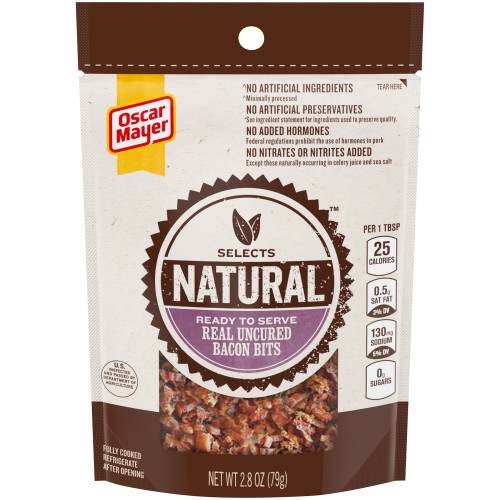 Oscar Mayer Select Bacon Bits 2.8 oz Pouch