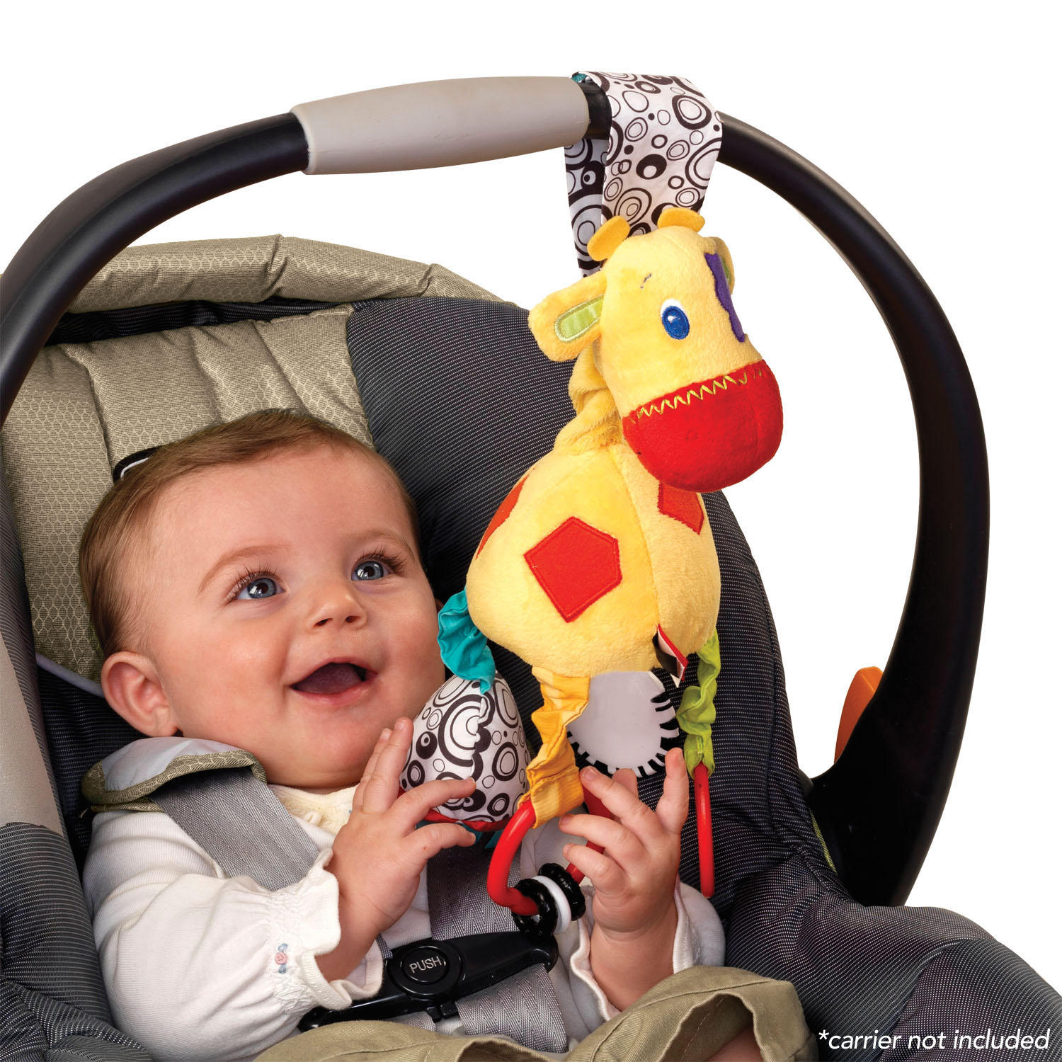 Start Your Senses™  Sensory Giraffe™ Take-Along Toy