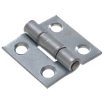 Hardware Essentials Light Narrow Door Hinges Fixed Pin