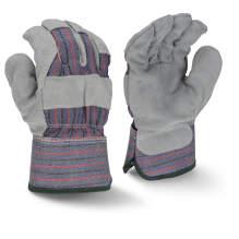 Bellingham C3205 Fleece Lined Regular Shoulder Gray Split Cowhide Leather Glove