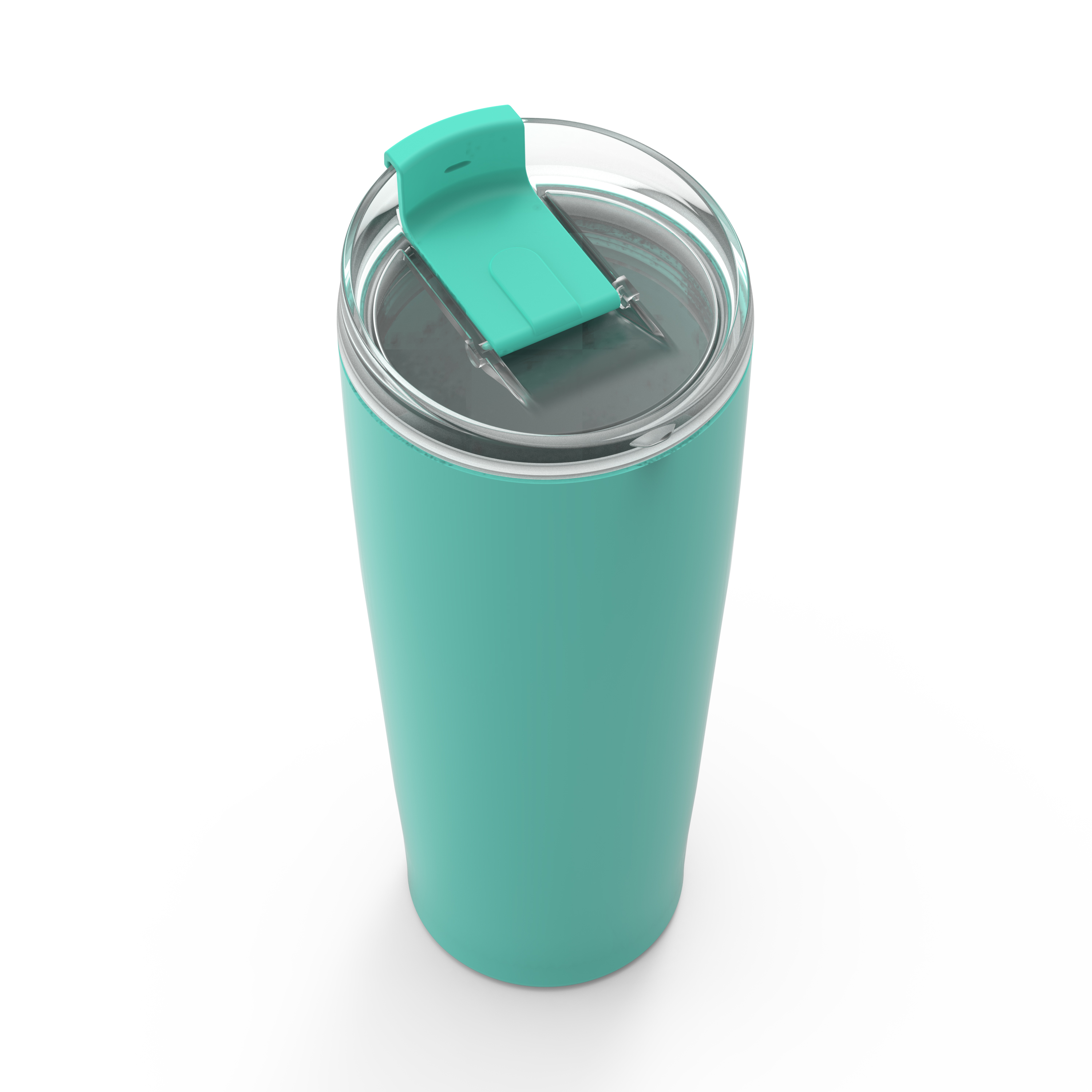 Aberdeen 30 ounce Vacuum Insulated Stainless Steel Tumbler, Green slideshow image 2