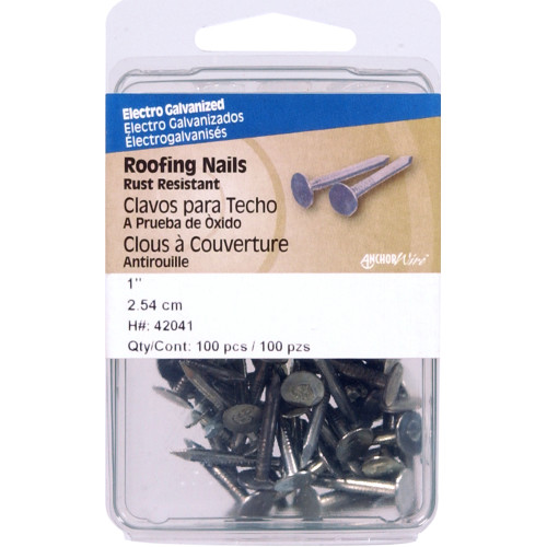 Electro-galvanized Roofing Nails 1