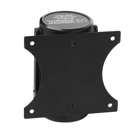 Wall Mount - Black with 8' CAU belt 12
