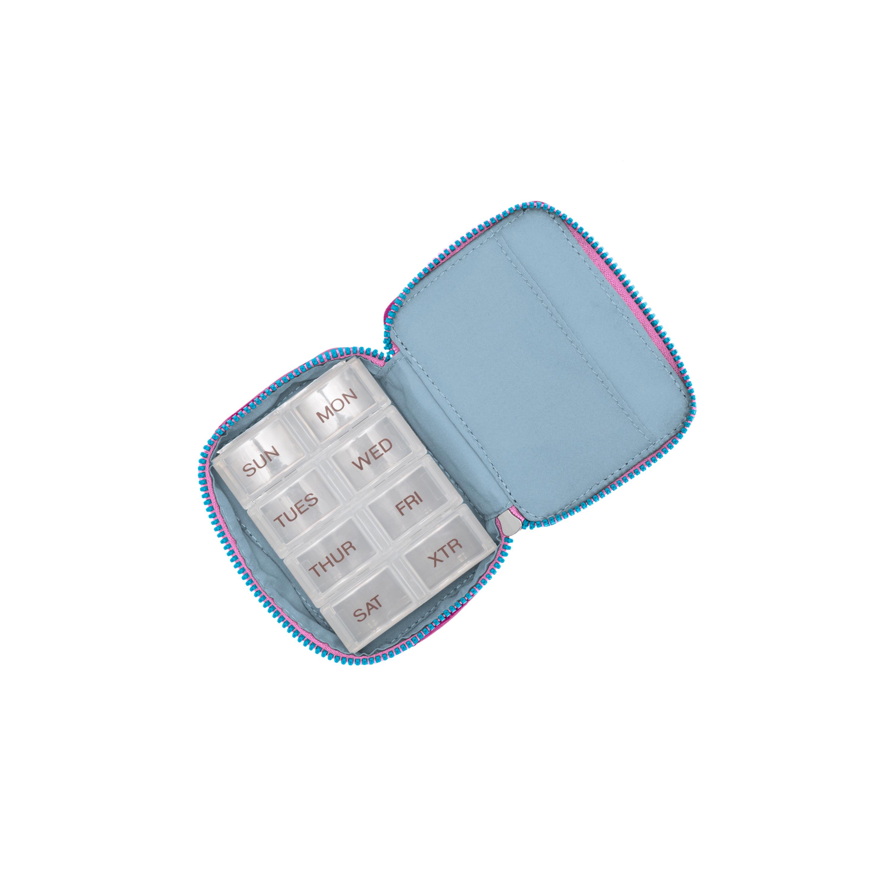 baggallini-Women-039-s-TSA-Friendly-Travel-Pill-Case-Nylon-Multiple-Colors thumbnail 6
