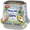 Philadelphia Dips Spinach & Artichoke Cream Cheese Dip with Pita Chips, 2.8 oz Single Serve Snack