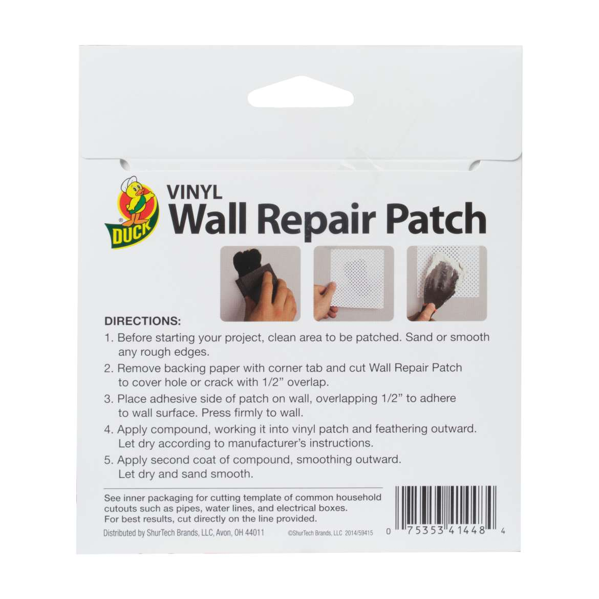 Vinyl Wall Repair Patch