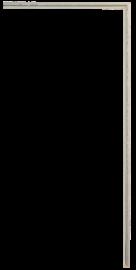 Gramercy Fillet Silver 3/16