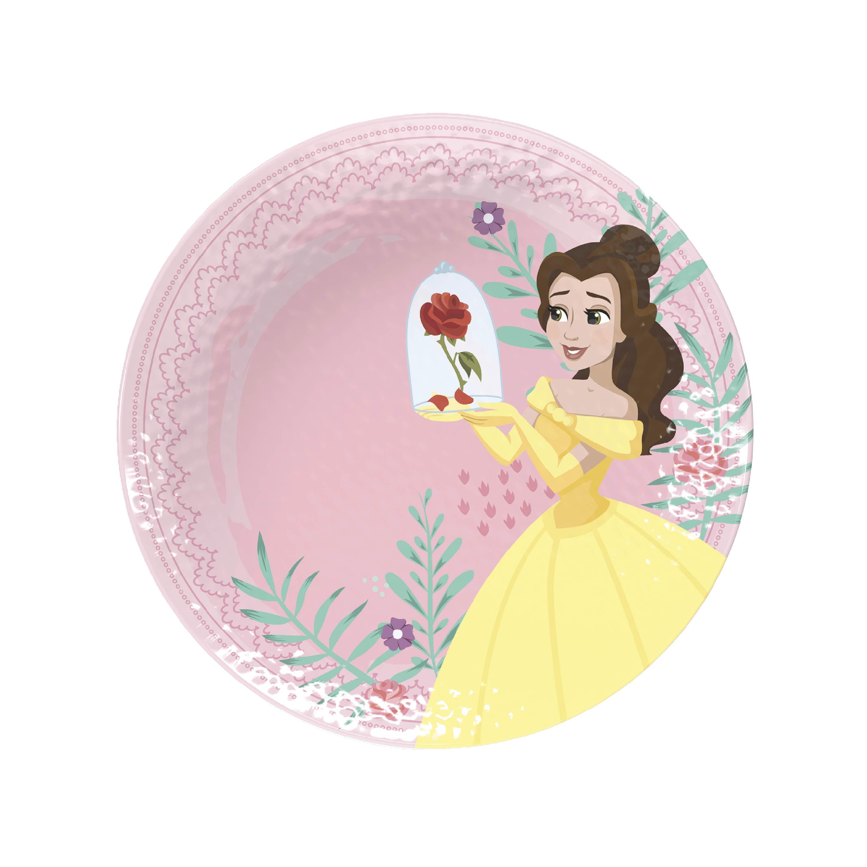 Disney Kids Plate and Bowl Set, Princess, 4-piece set slideshow image 4