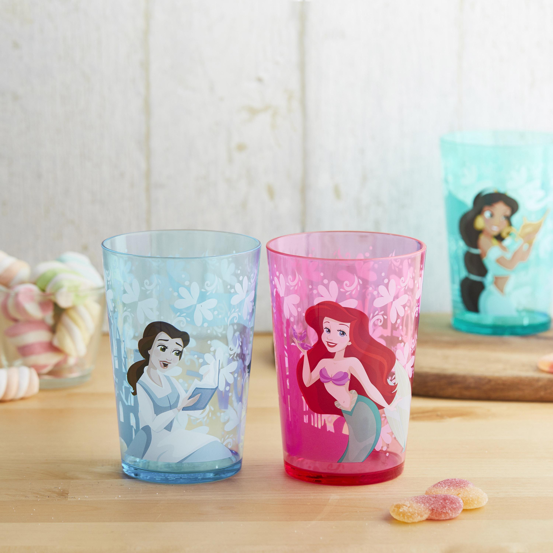 Disney Princess Tumbler, Princess Ariel and Friends, 4-piece set slideshow image 3