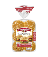(15.5 ounces) Pepperidge Farm® Bakery Classics Sesame Slider Buns