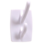 Hardware Essentials Plastic Double Hooks