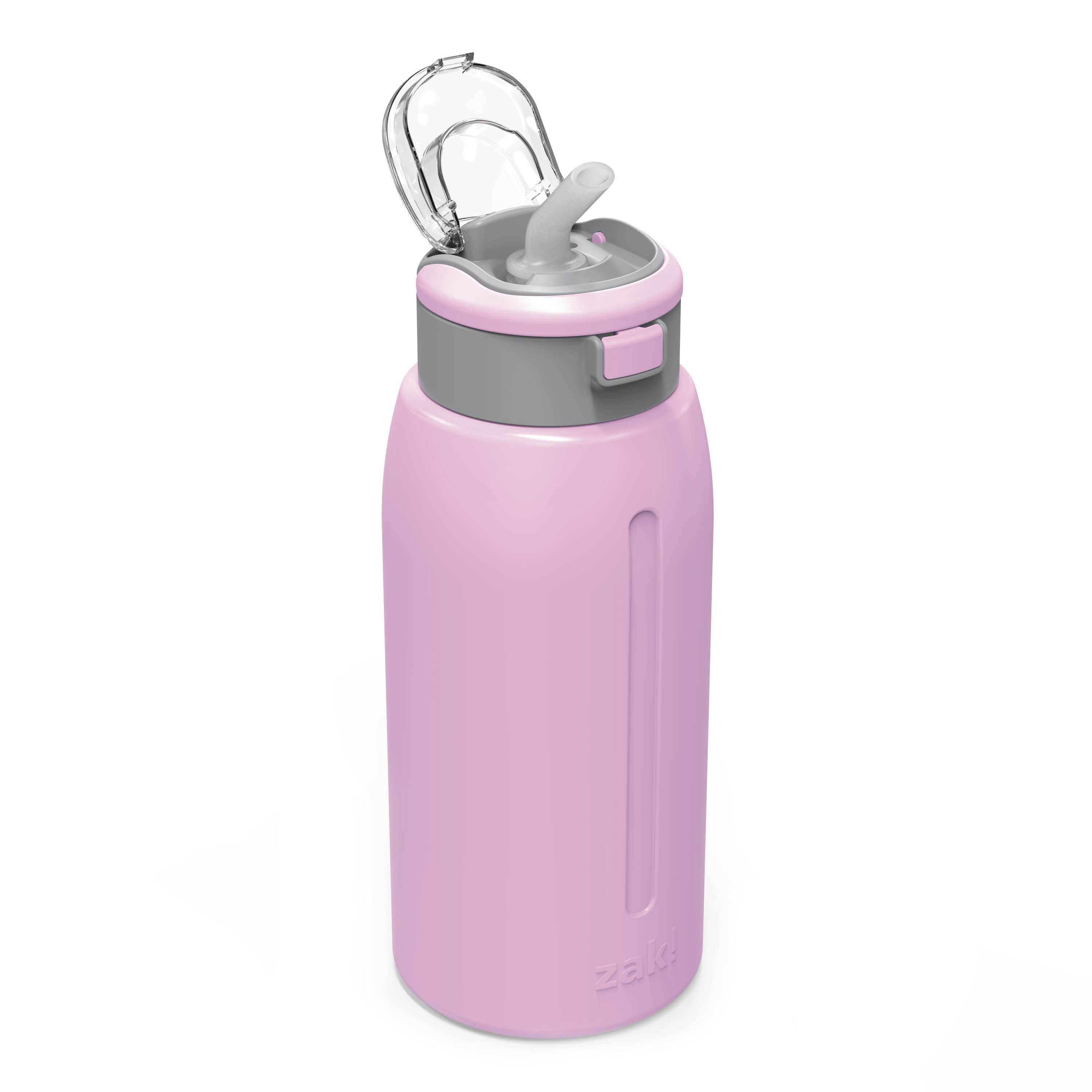 Genesis 32 ounce Stainless Steel Water Bottles, Lilac slideshow image 4