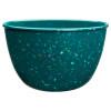 Confetti Dinner Plate, Salad Plate and Bowl Dinnerware Set, Peacock, 12-piece set slideshow image 4