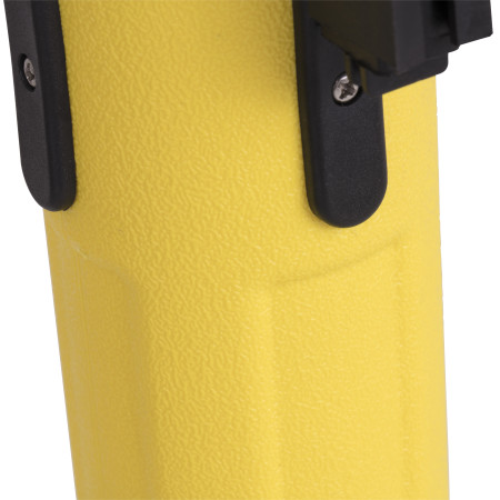 Sentry Stanchion - Yellow with Black Belt 2