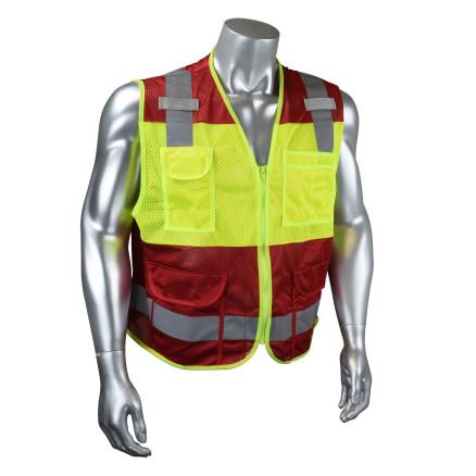 Radwear USA CSV6 Custom Type O Class 1 Safety Vest