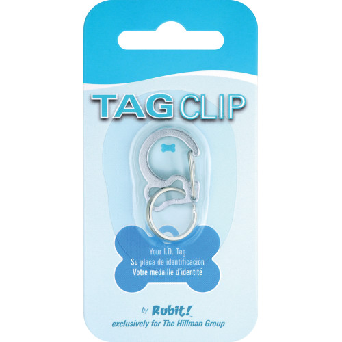 Quick-Tag Anodized Bone Tag Clip 5 Pack
