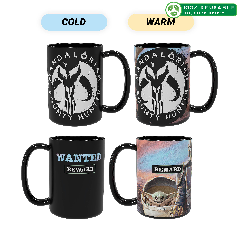 Star Wars: The Mandalorian 15 ounce Ceramic Coffee Mugs, The Mandalorian slideshow image 1