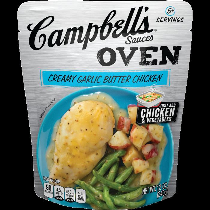 Creamy Garlic Butter Chicken Sauce