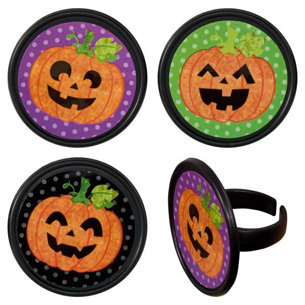 Fun and Classic Pumpkins Cupcake Rings