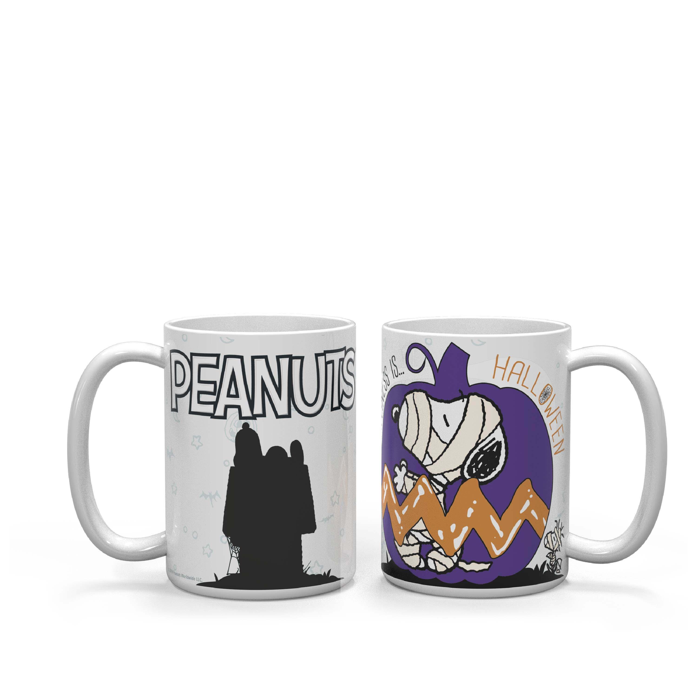 Peanuts 15 ounce Coffee Mug and Spoon, The Great Pumpkin slideshow image 6