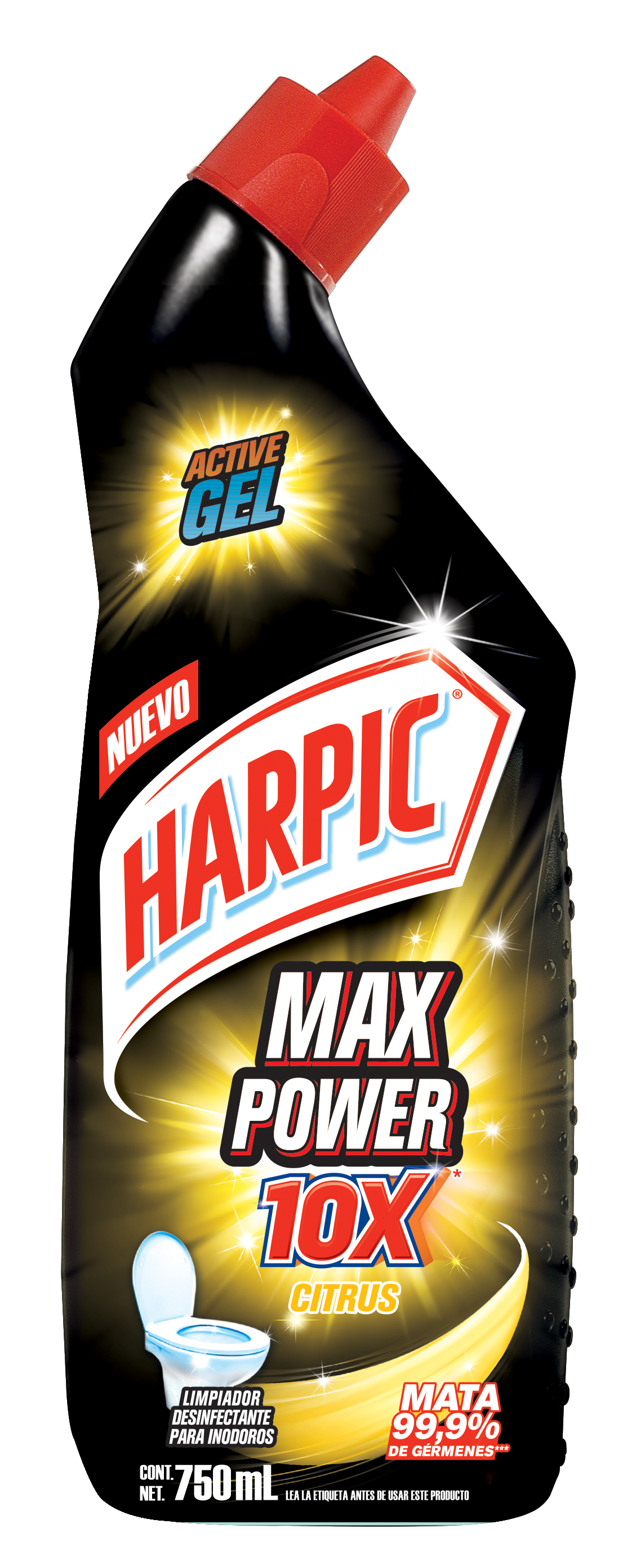 Harpic® Max Power 10x Citrus 750ml
