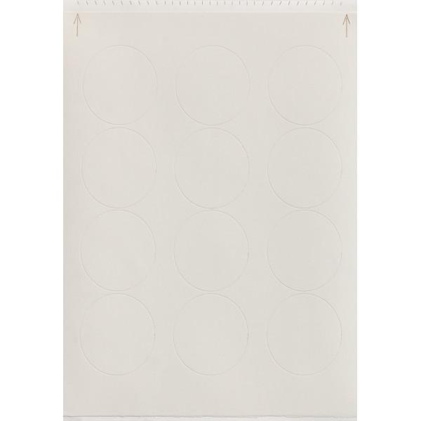 "Print-Ons®, 2"" Circles PhotoCake® Edible Paper"