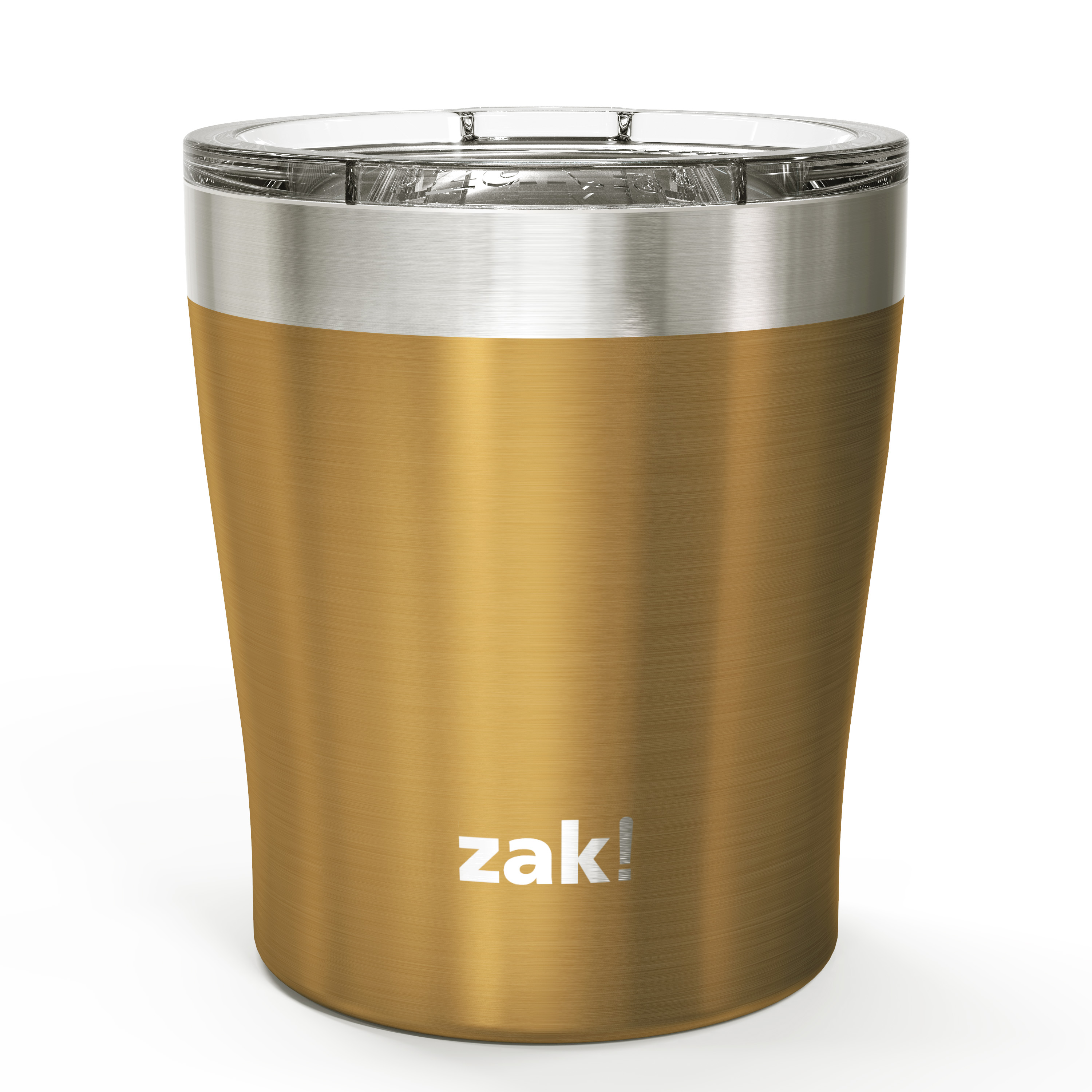 Dayton 10 ounce Vacuum Insulated Stainless Steel Tumbler, Copper, 2-piece set slideshow image 3