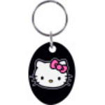 Black Hello Kitty Key Chain