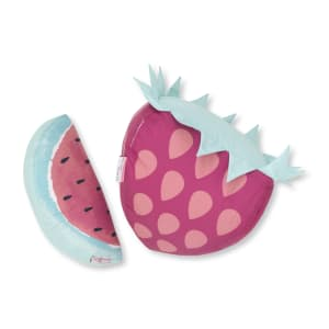 Dreamit - Strawberry & Watermelon Throw Pillows, 2- Pack