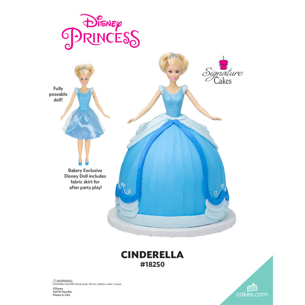 Disney Princess Cinderella Doll Signature DecoSet® The Magic of Cakes® Page