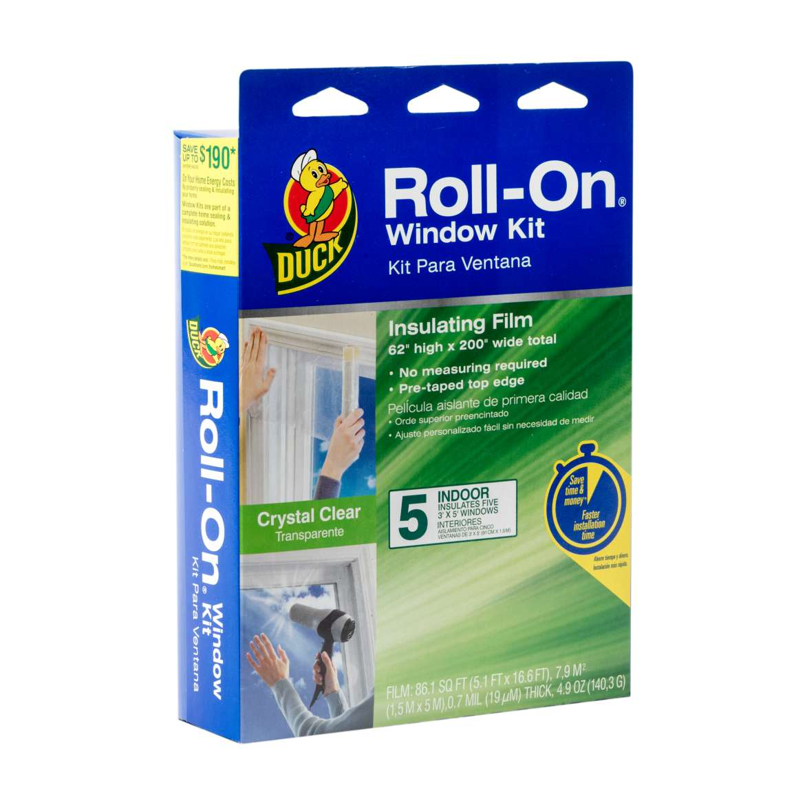 Roll-On® Window Insulation Kit Image