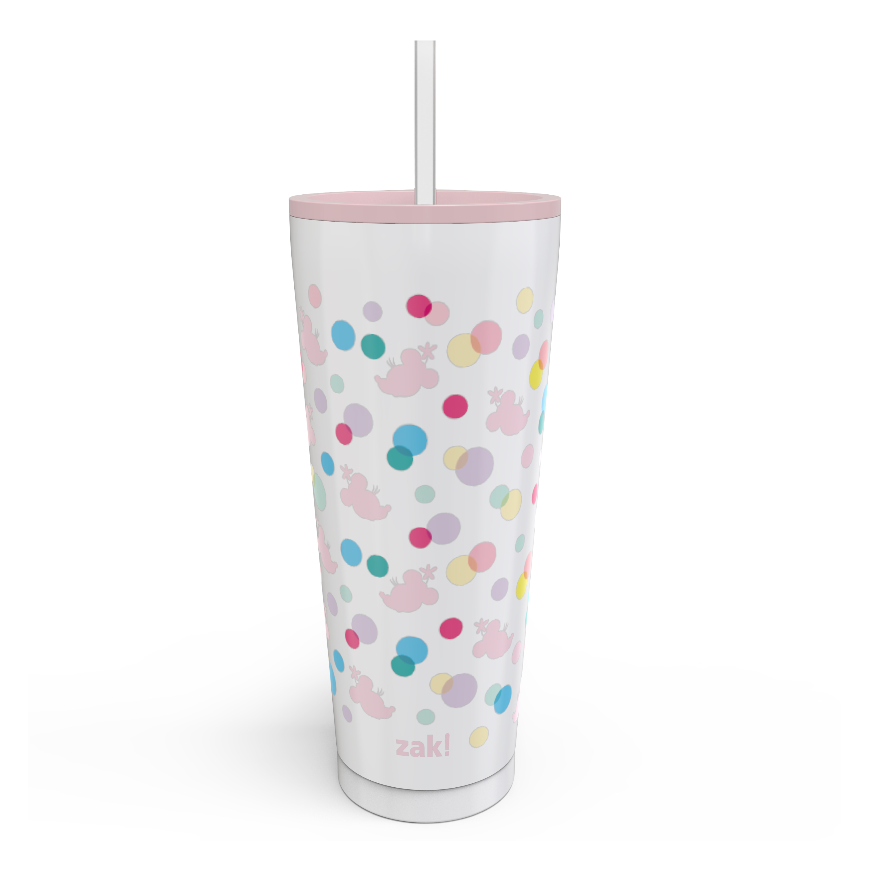 Disney 25 ounce Reusable Water Bottle, Minnie Mouse Polka Dots slideshow image 1